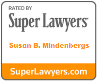Susan Mindenbergs Super Lawyers badge